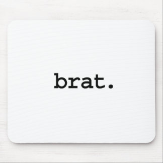 brat. mouse pad