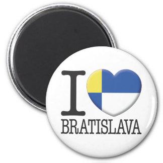 Bratislava 6 Cm Round Magnet