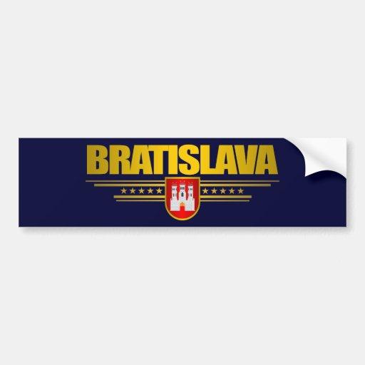 Bratislava Bumper Sticker