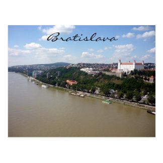 bratislava danube postcard