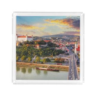 Bratislava, Slovakia Acrylic Tray