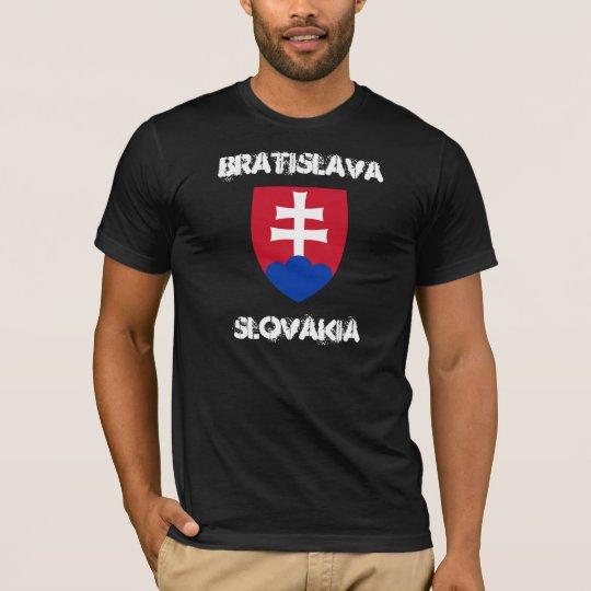 Bratislava, Slovakia with coat of arms T-Shirt