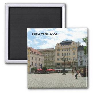 Bratislava Square Magnet