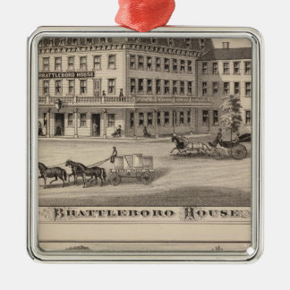Brattleboro House Christmas Ornament