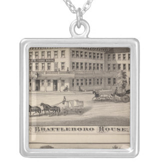 Brattleboro House Silver Plated Necklace