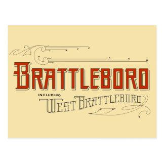 Brattleboro, Including West Brattleboro Postcard