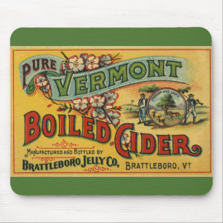 Brattleboro Jelly Boiled Cider from Vermont Mouse Pad