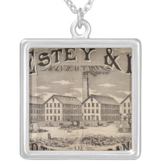 Brattleboro Vermont Silver Plated Necklace