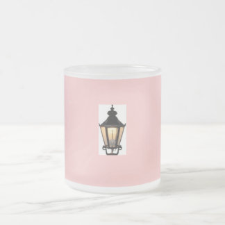 Braun LED Gas Street Lamp Mug