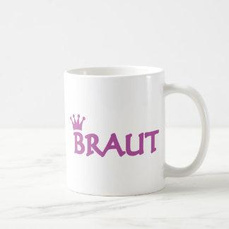 Braut icon basic white mug