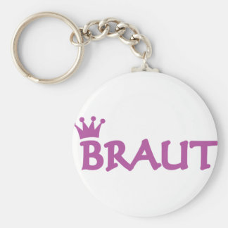 Braut icon key ring