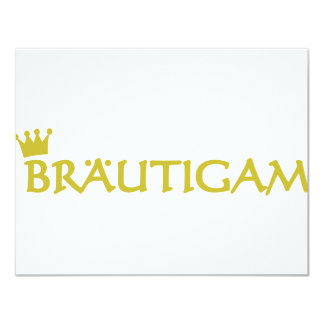Bräutigam icon card