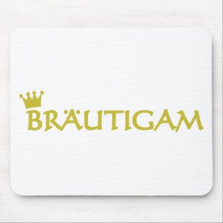 Bräutigam icon mouse pad
