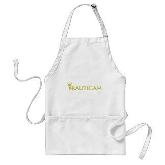 Bräutigam icon standard apron