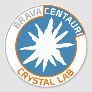 Brava Centauri Crystal Lab Sticker (Sheet of 20)