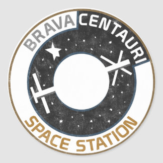 Brava Centauri Space Station Sticker (Set of 20)