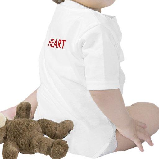 brave HEART vest T-shirt