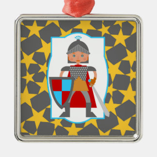 Brave Knight Boy Birthday Party Christmas Ornament