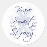 Brave Smart Strong Sticker
