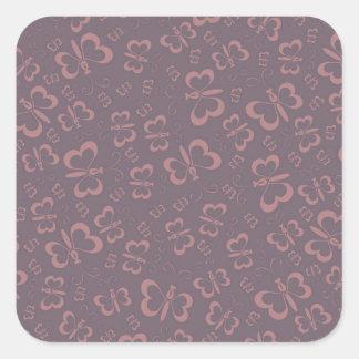 Brave Warmhearted Passionate Harmonious Square Sticker