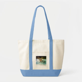 Brave Wolf Handbag Impulse Tote Bag