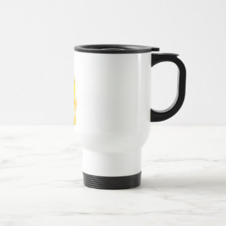 brave yellow lion mug