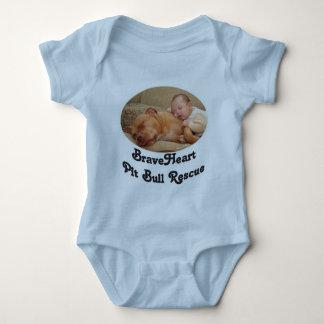 BraveHeart Pit Bull Rescue Infant Baby Bodysuit