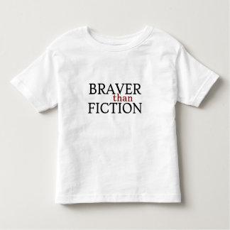 Braver than Fiction Toddler T-Shirt, White T-shirts