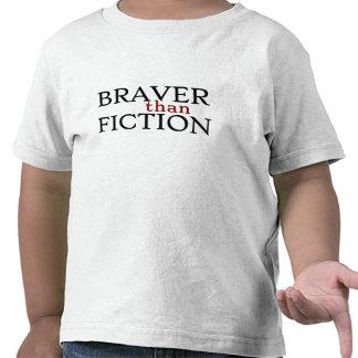 Braver than Fiction Toddler T-Shirt, White