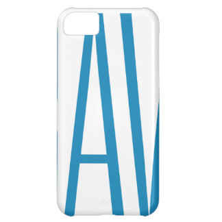 #Bravery Gifts - Light Blue on White iPhone 5C Case