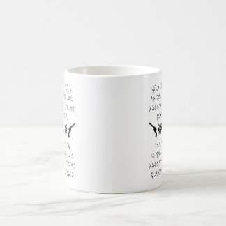 Bravery & Mercy Coffee Mug (Ainean Text Only)