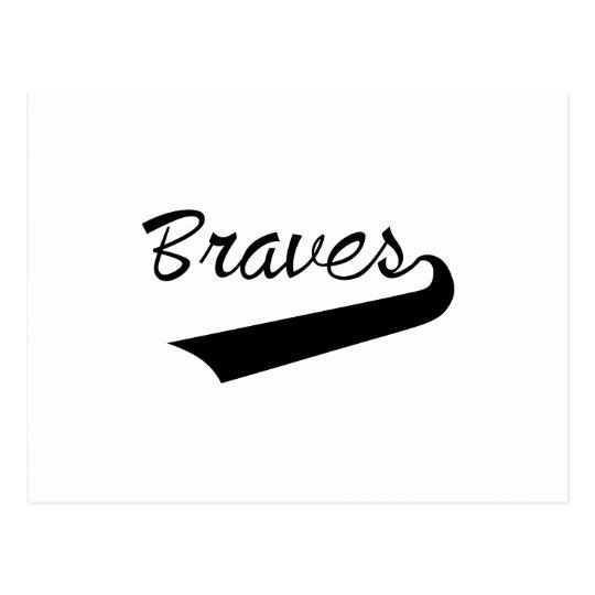 Braves Postcard