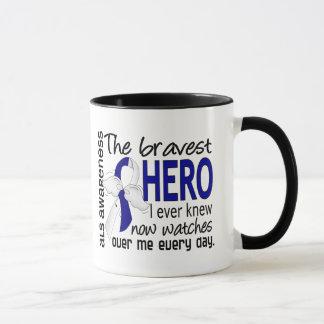 Bravest Hero I Ever Knew ALS Mug