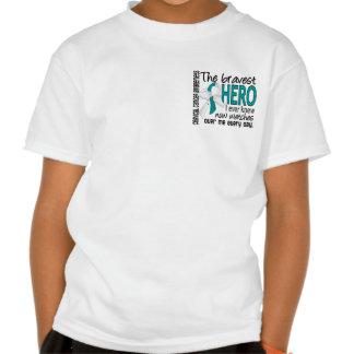 Bravest Hero I Ever Knew Cervical Cancer Shirts