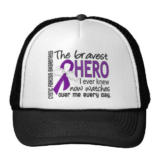 Bravest Hero I Ever Knew Cystic Fibrosis Trucker Hats