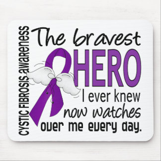 Bravest Hero I Ever Knew Cystic Fibrosis Mouse Mat