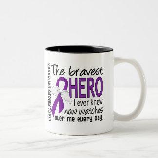 Bravest Hero I Ever Knew Cystic Fibrosis Mugs