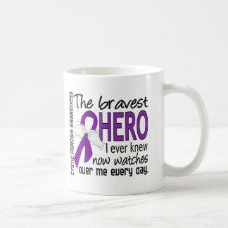 Bravest Hero I Ever Knew Cystic Fibrosis Mug