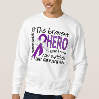 Bravest Hero I Ever Knew Cystic Fibrosis Sweatshirt