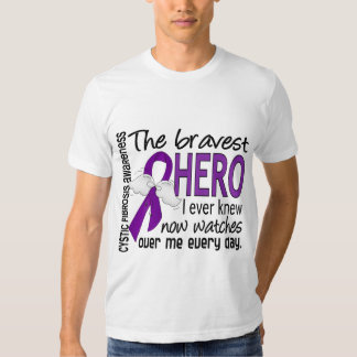 Bravest Hero I Ever Knew Cystic Fibrosis T Shirt