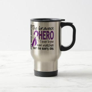 Bravest Hero I Ever Knew Cystic Fibrosis Travel Mug