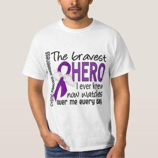 Bravest Hero I Ever Knew Cystic Fibrosis Tshirt
