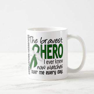 Bravest Hero I Ever Knew Liver Cancer Mugs