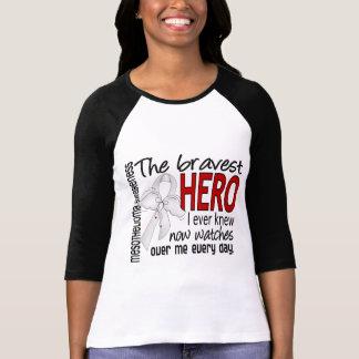 Bravest Hero I Ever Knew Mesothelioma T-shirts