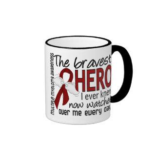 Bravest Hero I Ever Knew Multiple Myeloma Ringer Mug