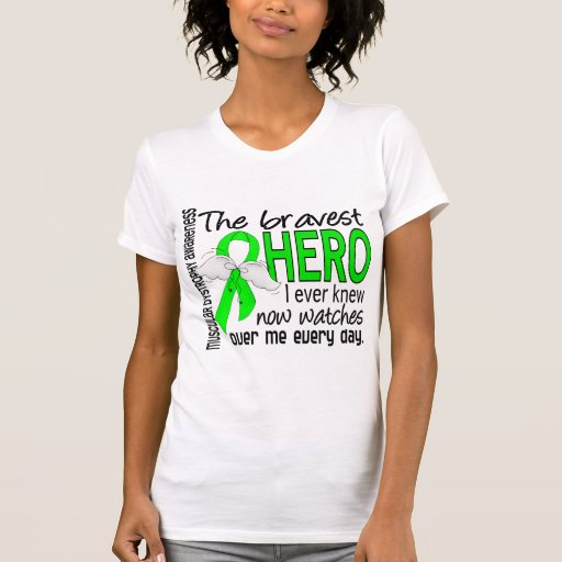 Bravest Hero I Ever Knew Muscular Dystrophy Tank Tops