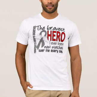 Bravest Hero I Ever Knew Parkinson's Disease T-Shirt