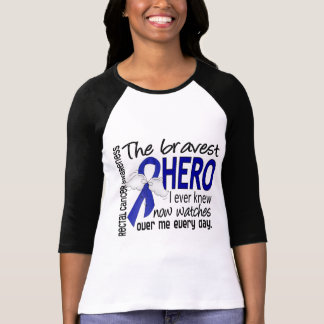 Bravest Hero I Ever Knew Rectal Cancer T-shirts