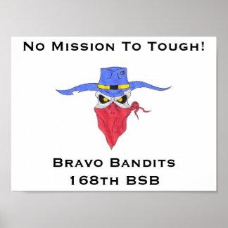 Bravo Bandits Poster