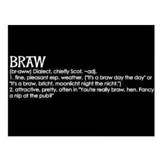 Braw Postcard